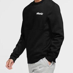 NWT $85 Nike Air Sportswear Fleece Crew Sweatshirt